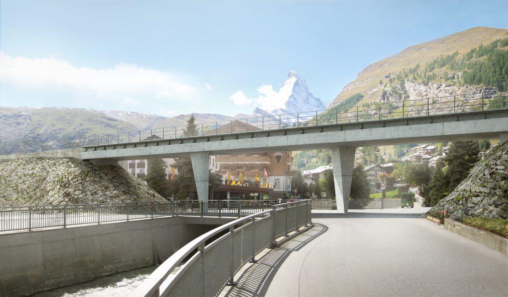 getwingbrücke - zermatt