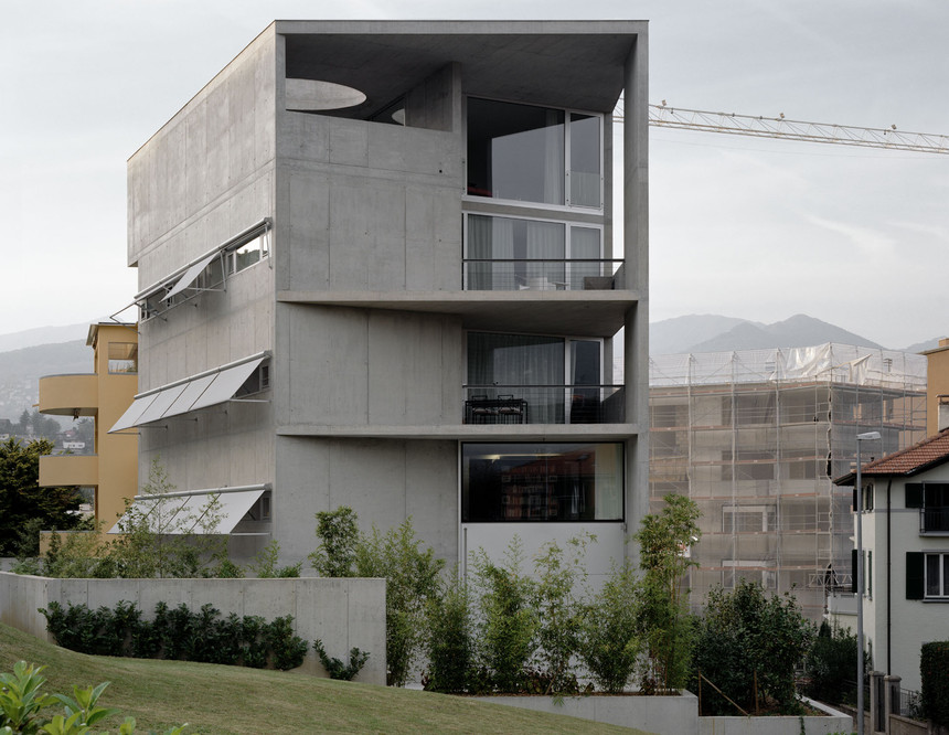 edificio abitativo via bertoni - lugano