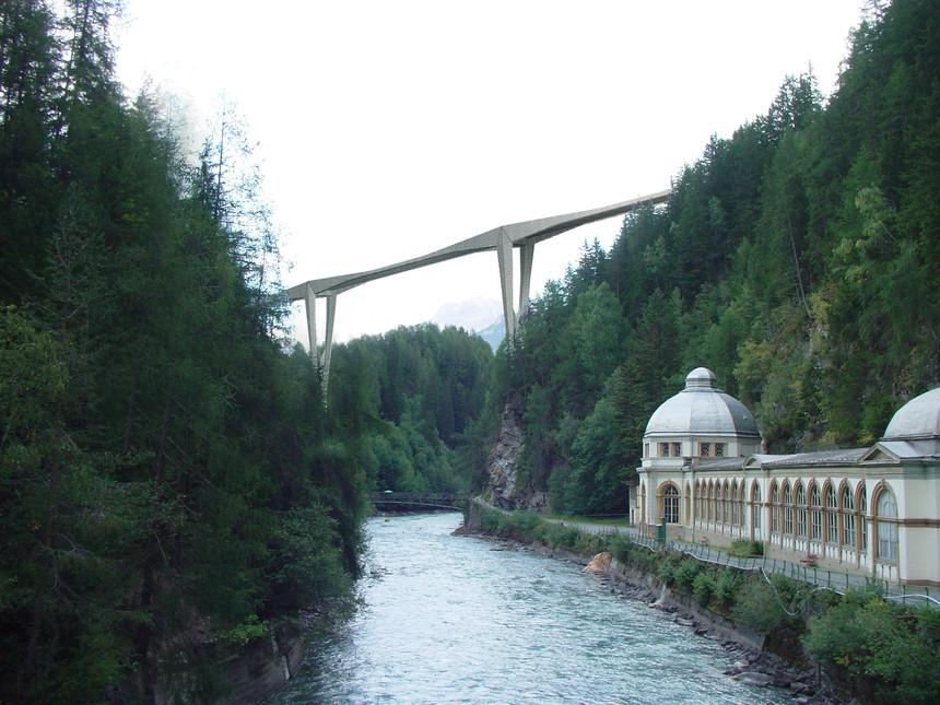 innbrücke vulpera - scuol