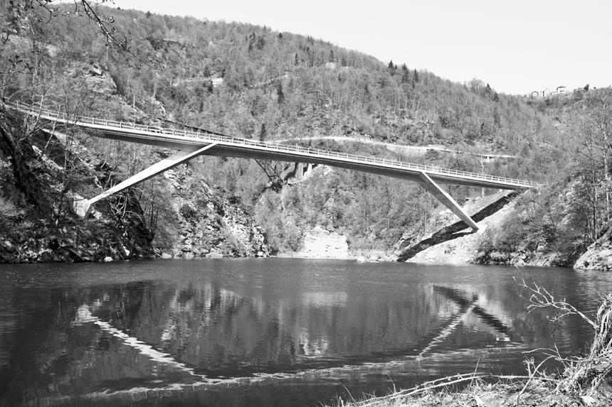 ponte sulla melezza - borgnone/palagnedra